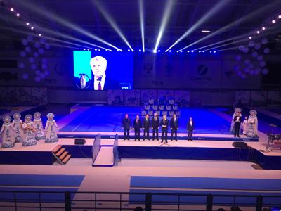 Торжественное открытие Центра подготовки по спортивной гимнастике